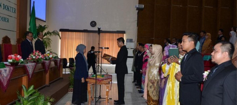 FK UNEJ Lantik 10 Dokter, Sumpah Dokter Periode III