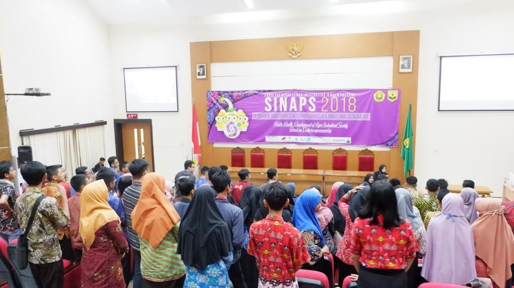 50 Tim Lolos Penyisihan SINAPS 2018 datang ke Jember