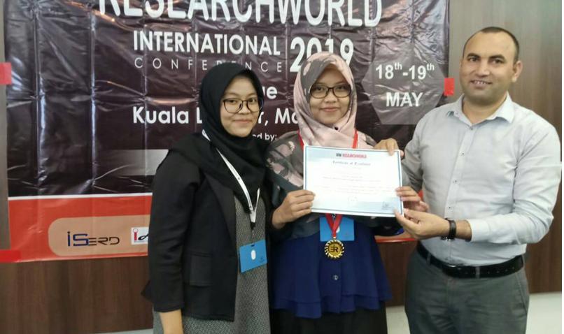 Melalui Game Edukasi Mahasiswa COASS Raih Best Paper dalam RESEARCH WORLD INTERNATIONAL 2019 di Malaysia